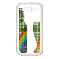 St. Patrick s day Samsung Galaxy S3 Back Case (White)