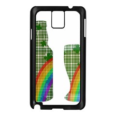 St. Patrick s day Samsung Galaxy Note 3 N9005 Case (Black)