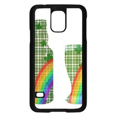 St. Patrick s day Samsung Galaxy S5 Case (Black)