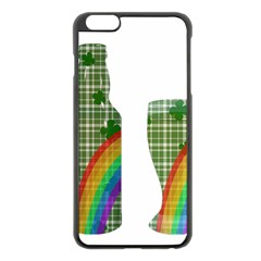 St. Patrick s day Apple iPhone 6 Plus/6S Plus Black Enamel Case