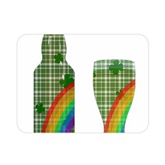 St. Patrick s day Double Sided Flano Blanket (Mini)