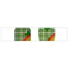 St. Patrick s day Flano Scarf (Small)