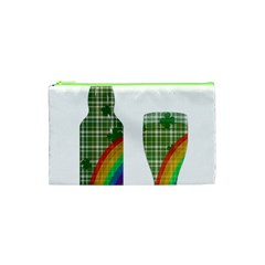 St. Patrick s day Cosmetic Bag (XS)