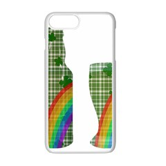 St. Patrick s day Apple iPhone 7 Plus White Seamless Case