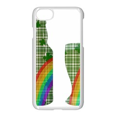 St. Patrick s day Apple iPhone 7 Seamless Case (White)