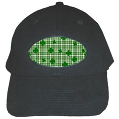 St. Patrick s day pattern Black Cap
