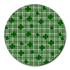 St. Patrick s day pattern Round Mousepads
