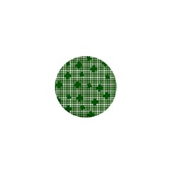 St. Patrick s day pattern 1  Mini Buttons