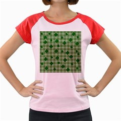 St. Patrick s day pattern Women s Cap Sleeve T-Shirt