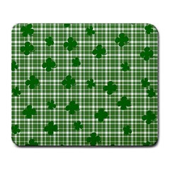 St. Patrick s day pattern Large Mousepads