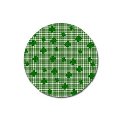 St. Patrick s day pattern Magnet 3  (Round)