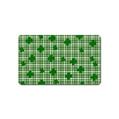 St. Patrick s day pattern Magnet (Name Card)