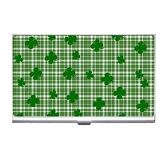 St. Patrick s day pattern Business Card Holders