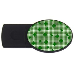 St. Patrick s day pattern USB Flash Drive Oval (1 GB)