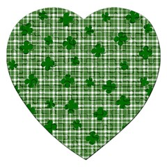 St. Patrick s day pattern Jigsaw Puzzle (Heart)