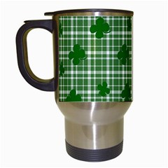 St. Patrick s day pattern Travel Mugs (White)