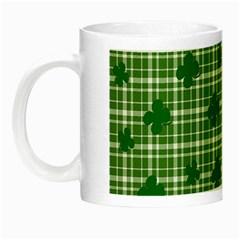 St. Patrick s day pattern Night Luminous Mugs