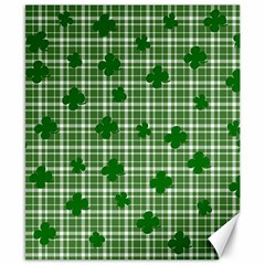 St. Patrick s day pattern Canvas 8  x 10