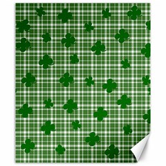 St. Patrick s day pattern Canvas 20  x 24