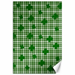St. Patrick s day pattern Canvas 20  x 30