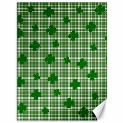 St. Patrick s day pattern Canvas 36  x 48