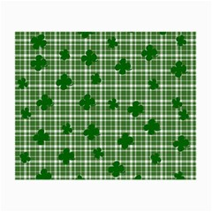 St. Patrick s day pattern Small Glasses Cloth (2-Side)