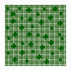 St. Patrick s day pattern Medium Glasses Cloth (2-Side)