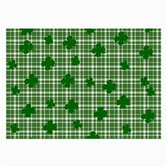 St. Patrick s day pattern Large Glasses Cloth