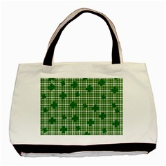 St. Patrick s day pattern Basic Tote Bag (Two Sides)