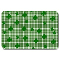 St. Patrick s day pattern Large Doormat