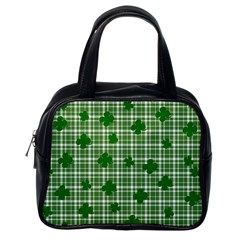 St. Patrick s day pattern Classic Handbags (One Side)