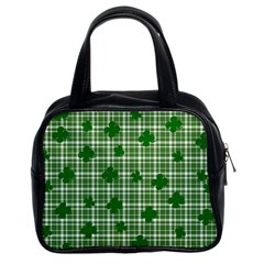 St. Patrick s day pattern Classic Handbags (2 Sides)