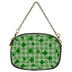 St. Patrick s day pattern Chain Purses (One Side)