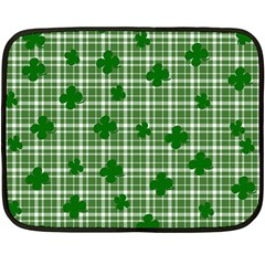 St. Patrick s day pattern Double Sided Fleece Blanket (Mini)