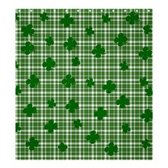 St. Patrick s day pattern Shower Curtain 66  x 72  (Large)