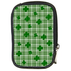 St. Patrick s day pattern Compact Camera Cases