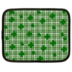St. Patrick s day pattern Netbook Case (XXL)