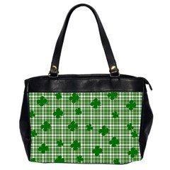 St. Patrick s day pattern Office Handbags (2 Sides)