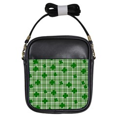St. Patrick s day pattern Girls Sling Bags