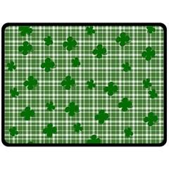 St. Patrick s day pattern Fleece Blanket (Large)