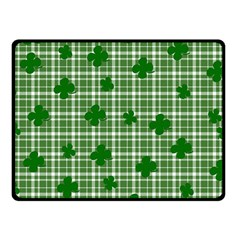 St. Patrick s day pattern Fleece Blanket (Small)