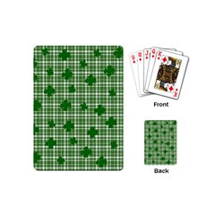 St. Patrick s day pattern Playing Cards (Mini)