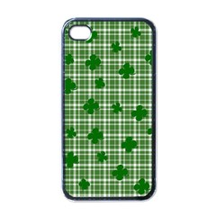 St. Patrick s day pattern Apple iPhone 4 Case (Black)