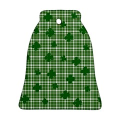St. Patrick s day pattern Ornament (Bell)