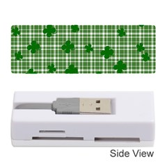 St. Patrick s day pattern Memory Card Reader (Stick)