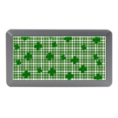 St. Patrick s day pattern Memory Card Reader (Mini)