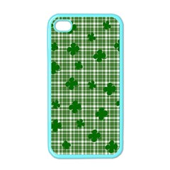 St. Patrick s day pattern Apple iPhone 4 Case (Color)
