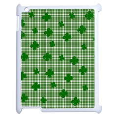 St. Patrick s day pattern Apple iPad 2 Case (White)