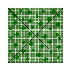 St. Patrick s day pattern Acrylic Tangram Puzzle (6  x 6 )