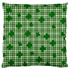 St. Patrick s day pattern Large Cushion Case (Two Sides)